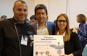 Premio innovación en el Salón de Gourmets 2018